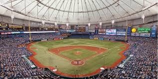 Rays Seating Chart With Rows Tropicana Field Tampa Bay Rays Ballpark Ballparks Of Baseball
