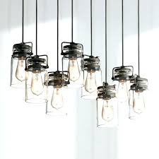 pottery barn jar chandelier pottery barn inspired mason jar chandelier glassmason pendant light medium size of