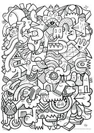 Wolf Coloring Pages Hard Difficult Printable Free Cute Intricate