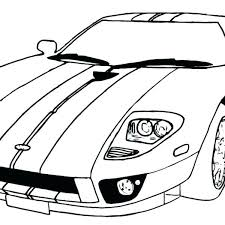 Car Coloring Pages Printables Cars Printable Simple Race P