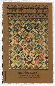 Pinwheel Garden - quilt pattern - by Primitive Gatherings | Quilts ... & Pinwheel Garden from Primitive Gatherings Quilt Shop. I love pinwheels Adamdwight.com