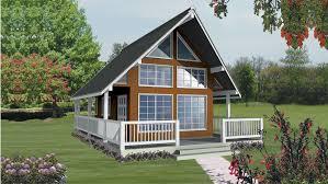 A-Frame Style House - Plan HWBDO76604