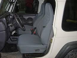 2002 jeep wrangler bucket seat covers