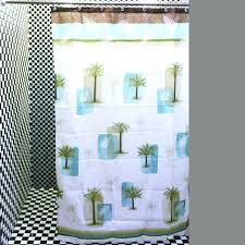 smlf chic white baby blue palm tree shower curtains lime green shower curtain target shower design lime