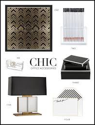 trendy office supplies. Chic Office Accessories Via Meg Biram Trendy Supplies