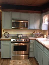 Old Looking Kitchen Cabinets Updating My Old Oak Cabinets To Anne Sloan Chalk Paint Duck Egg