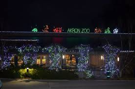 Akron Ohio Zoo Lights Akron Zoo To Kick Off Holiday Themed Wild Lights Event