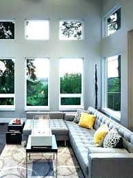 dec gray couch decor dark grey leather