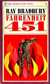 fahrenheit 451 ray bradbury original cover art by joe pernaciaro 1953