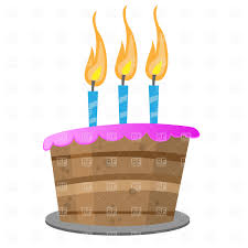 birthday cakes with candles clip art. Exellent Birthday Birthday Cake With Candles Vector Image U2013 Artwork Of Food And  Beverages  Prague  Click To Zoom Throughout Cakes With Candles Clip Art P