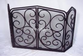 iron fireplace screen. Ornate Fireplace Screens Awesome Wrought Iron Stairs Intended For Modern Decorative . Screen R