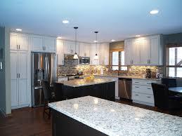New Kitchen Remodel Custom White Cabinet Kitchen Remodel Aspen Remodelers