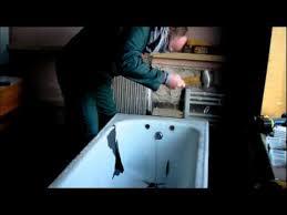 breaking a cast iron bath
