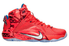 lebron red shoes. name:nike lebron xii color:\ lebron red shoes -