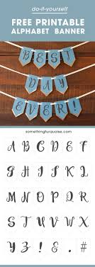 best ideas about printable banner letters banner loads of banners online only have happy birthday or just married lettering this printable gives you all the letters of the alphabet so you can write
