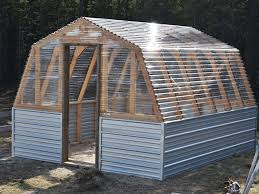 free plan for a barn greenhouse by ana white