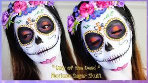 day of the dead mexican sugar skull makeup tutorial caydaamakeup