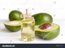 Avocado Light Avocado Oil On Table On Light Stock Photo Edit Now 219001441