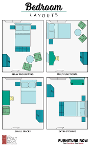 This Bedroom Layout Guide Has Four Bedroom Layouts To Show How To Arrange  Your Bedroom Furniture. Maximize Relaxation, Storage, And Small Spaces In  Style!