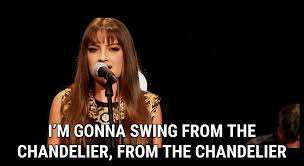 swing on the chandelier meaning musethecollective artist sia s