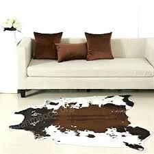 faux cow hide rug cowhide deer fur