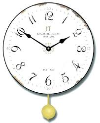 black and white large wall clock oversized clocks j vintage pendulum view in your room contemporary