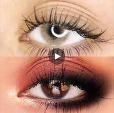 Dark Brown To Light Brown Eyes Tag A Friend Whod Like To Wear Contacts For A Change
