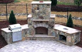 pizza oven fireplace how to build a outdoor fireplace with cinder blocks your own pizza oven pizza oven fireplace