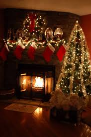 fireplace mantel lighting ideas. welcome santa lovely christmas decorating ideas for fireplace mantels mantel lighting