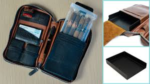 peter james cigar case and tray