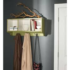 picket fence coat rack living solutions sequoia wall mounted avocado green  and white racks . picket fence coat rack ...