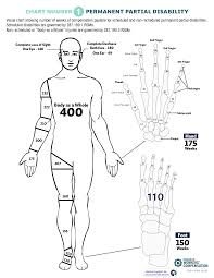Workers Comp Disability Chart Body Chart
