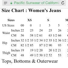 16 Unique Bullhead Womens Jeans Size Chart