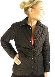 Campbell Cooper Ladies Fitted Quilt Newmarket Riding Jacket ... & Campbell Cooper Ladies Fitted Quilted Newmarket Riding Jacket - Black - 10 Adamdwight.com