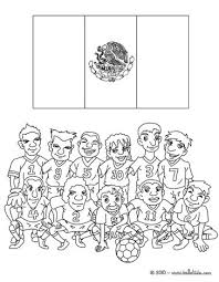 Small Picture Team of mexico coloring pages Hellokidscom