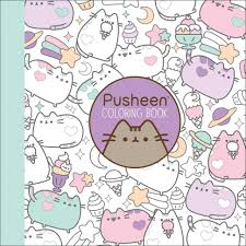 Coloring The Colouring Book Amazon Com Pusheen Coloring Claire