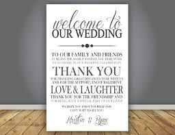 Add On Thank You Note Wedding Program Add On Guest Thank