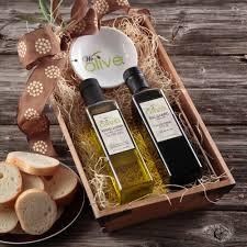 olive olive and vinegar gift