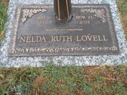 Nelda Ruth Pearce Lovell (1946-2003) - Find A Grave Memorial