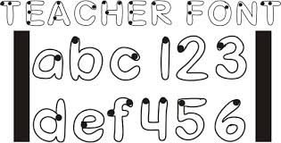Download a book jacket cover for your alphabet here. 42 Free Fonts For Teachers Teach Junkie