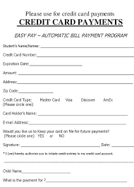 Automatic Withdrawal Form Template Templates C Freebie Vector Visa Credit Card On For Flyers