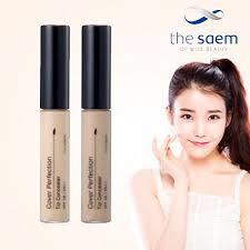the saem korean makeup brand cover perfection tip
