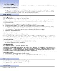 Resume Template Medical Sales Resume Examples Complete Collection