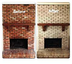 can you paint fireplace brick good painted fireplace brick and image of how to paint brick can you paint fireplace brick