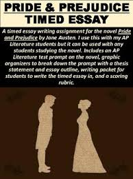 pride and prejudice timed essay by mz s english teacher tpt pride and prejudice timed essay