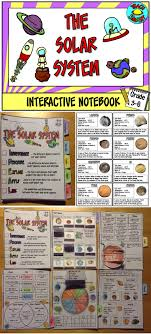 The Solar System Interactive Notebook Space Stuff Solar