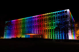 Pittsburgh Social Lights Hunt Library Carnegie Mellon University Pittsburgh