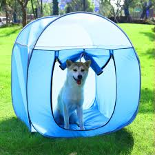 <b>Folding Waterproof Pets Cat</b> Tent Houses Pet Beds Oxford Outdoor ...
