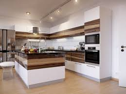modern kitchen furniture. View In Gallery Furniture-kitchen-two-tone-layer-solid-wood-mixed- Modern Kitchen Furniture