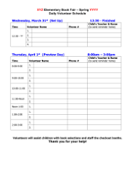 Halloween Party Volunteer Sign Up Sheet Printable Within Template